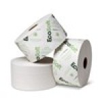 EcoSoft™ OptiCore® Controlled-Use White 2-Ply Bath Tissue