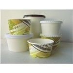 12 Oz. White Paper Food Container