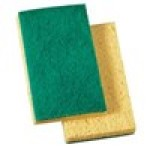 Scotch-Brite™ 3.6″ x 6.1″ Yellow/Green Medium Duty Scrub Sponge