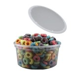 Value Line Clear Plastic Container and Lid Combo – 16 oz