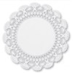 5″ Round Cambridge Design Lace Doilies