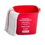 Kleen-Pail® Red Sanitizing Solution Pail – 8 Quart
