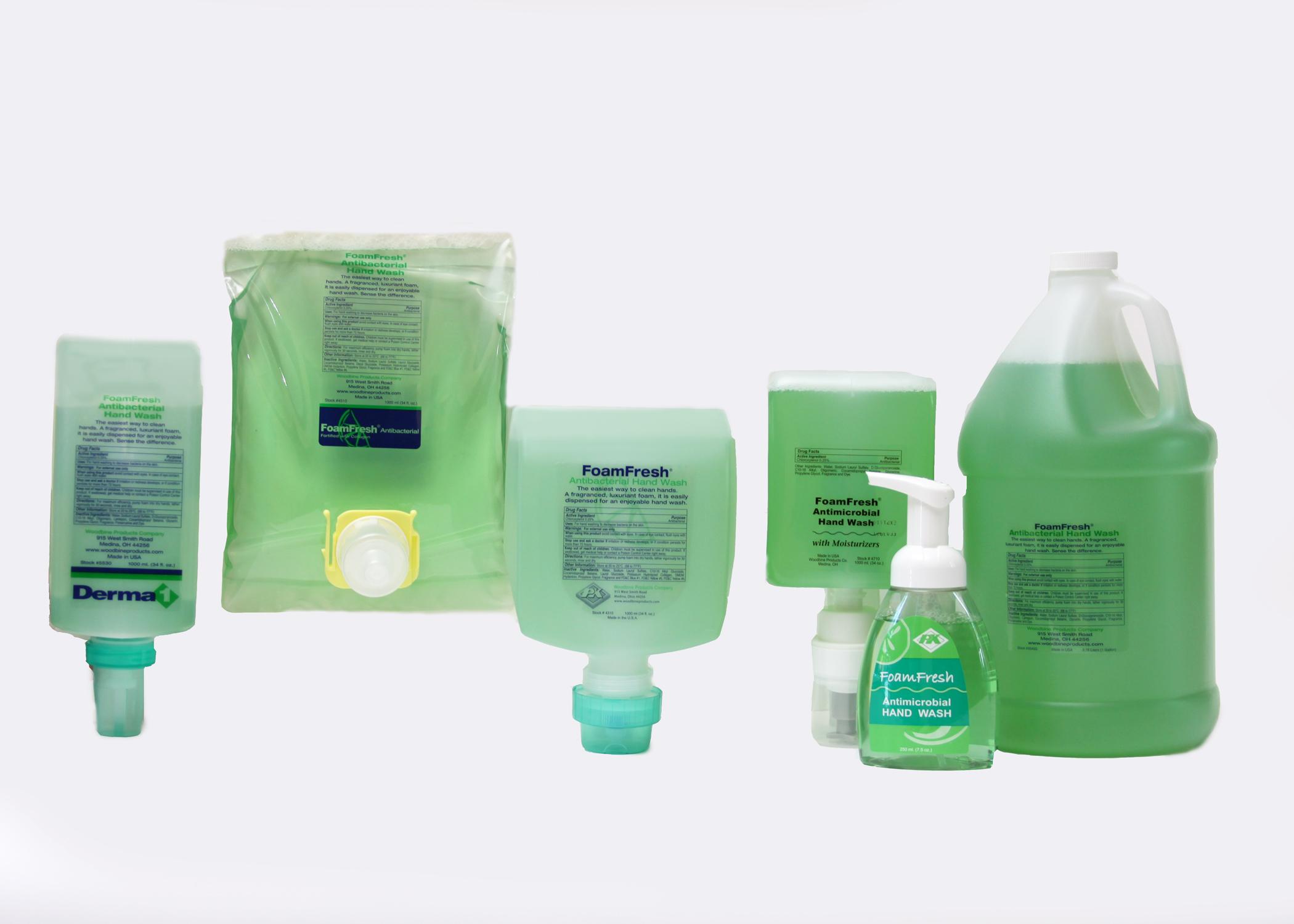 Foamfresh Antibacterial Hand Wash Augusta Linen Service
