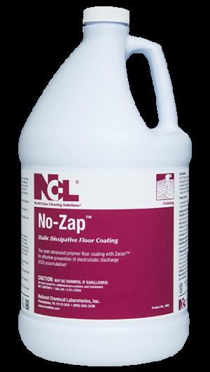 No Zap Static Dissipative Floor Coating Augusta Linen